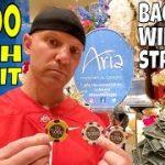 Christopher Mitchell Baccarat Winning Strategy $3,700 Win At Casino- Caesars Palace, Bellagio & Aria