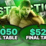 bungakat DESTROYS 2 FINAL TABLES