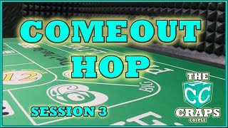The Comeout HOP #3 Don't Pass Craps Strategy Session 3