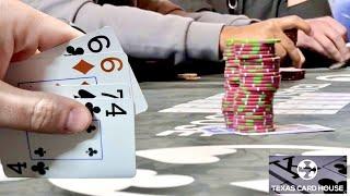 CRAZY PINEAPPLE & OMAHA AT TEXAS CARD HOUSE!! // Texas Holdem Poker Vlog 47