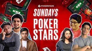 Sundays with @PokerStars India ft. Tanmay, Rider, Shamerfleet, Sejal and unfortunately Vivek