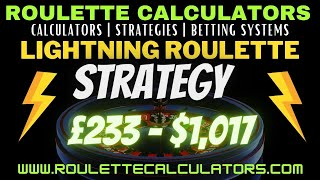 Lightning Roulette Strategy – How To Play Lightning Roulette and How To Beat Lightning Roulette