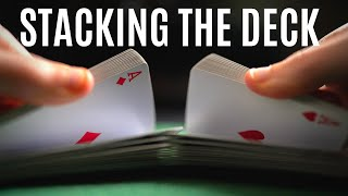 CARD CHEATING Technique: Stacking the Deck