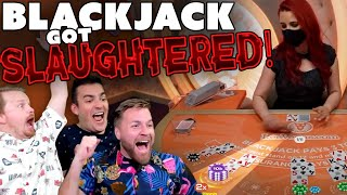 Blackjack Gets BLOODY… (for the casino)