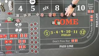 Good craps strategy?  The power press method starting at a higher bet.
