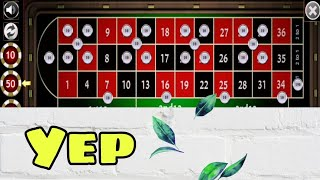 🥀 100% Success My Target to Create Awesome Betting Strategy to Roulette    Roulette Strategy to Win