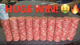 RUNNING HOT Vs EXTREMELY LOOSE PLAYERS!!! CRAZY TEXAS HOLDEM Pt. 2 | Poker Profit Vlog EP #10