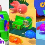 Como   Roulette Game + More Episode 25min   Learn colors and words   Como Kids TV