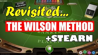 WILSON METHOD REVISITED   STEARN   IMPROVEMENT – Baccarat Strategy Review