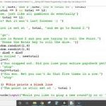 Craps using Python