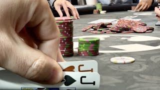 MY LAST DAY IN TEXAS DOES NOT DISAPPOINT!! // Texas Holdem Poker Vlog 48