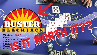 BUSTER BLACKJACK SIDE BET- Is It Worth It?  PLUS DOUBLED OUR MONEY