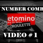 My NUMBER COMBOS Strategy   Video #1   Best Roulette Strategy to Win Big