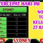 Live Draw Nomor Sydney hari ini