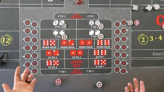 Good craps strategy? center action parlays