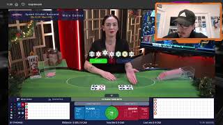 Baccarat Winning Strategy – 89 SPECIAL + NO MIRROR +$25 Profit – #3