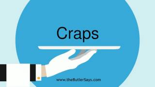 """Learn how to say this word: """"Craps"""""""