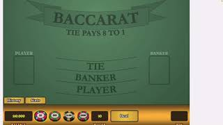 Baccarat Strategy $10,000 Challenge Is Done ✅