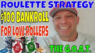 """Roulette Strategy For Low Rollers- Christopher Mitchell Plays Roulette """"LIVE"""" With A $100 Bankroll."""
