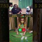 Huge blackjack win!