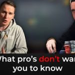 What Pro Poker Players Don't Want You To Know   Podcast with Patrick Leonard and Bencb