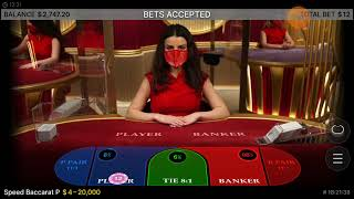 BACCARAT 363: I am scared when a new dealer comes in mid shoe