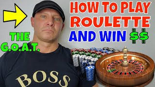 How To Play Roulette And Win- Christopher Mitchell Plays Roulette LIVE.