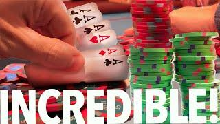 MAGNIFICENT HANDS – MASSIVE POTS – MONSTER SESSION!!! // Texas Holdem Poker Vlog 54