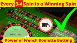 How to win every time at roulette | Roulette Video Strategy to Win Big