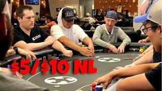$5/$10 No Limit Hold 'Em Cash Game   TCH Live Poker Stream – 7/5/2021