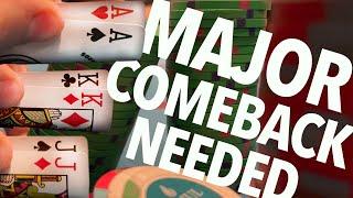 DOWN $1200 IN 1 HOUR!! // Texas Holdem Poker Vlog 51