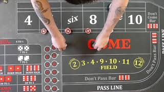 Good craps strategy?  6 and 8 ride or die