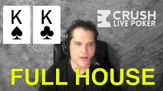 Poker Strategy: Pocket Kings Against High Stakes Pro