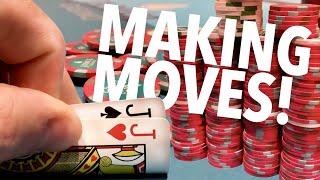 SHOOTING FOR THE STARS!! // Texas Holdem Poker Vlog 56