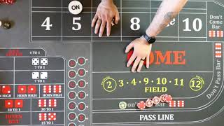 Good Craps Strategy?  Most common mistakes don't players make.