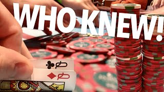 EXPECT THE UNEXPECTED!! // Texas Holdem Poker Vlog 57