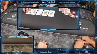 Poker – $1/$3 No Limit Texas Hold'Em