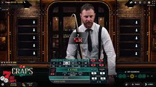 ONLINE CRAPS STRATEGY!!! $15+ an HOUR!!!!! DONT RUSH NOTHING BUT 6s and 8s!