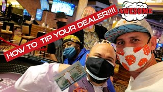 CRAPS STRATEGIES -HOW TO MAKE DEALERS LOVE YOU ===TIPPING