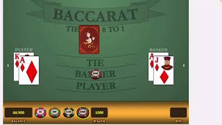 New Tested Baccarat Strategy