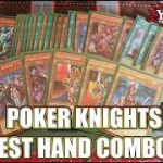 YUGIOH Learn To Play: Poker Knights – Test Hand Combos