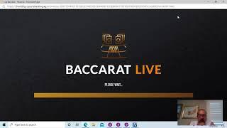 "Baccarat Winning Strategy "" LIVE PLAY "" By Gambling Chi 10/06/2020"
