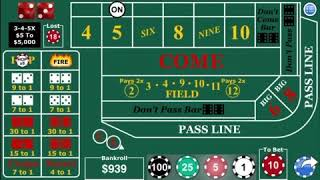 My best Craps Strategy, Good luck
