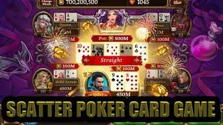 SCATTER POKER WIN CARD – 4 – 6 @GURU GAMES