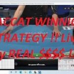 """Baccarat Winning Strategy """" LIVE PLAY .. REAL $$ By Gambling Chi 5/7/2021"""