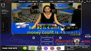 how to win at baccarat table using the perfect sniper tko #workfromhome