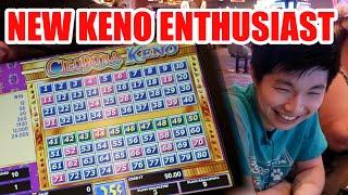 I LOVE KENO!! – Live Keno At Strat Las Vegas with Isaac #2