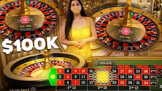 Putting $20,000 on 1 Roulette Spin!