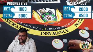 Blackjack Hindi: Martingale and 212 strategy comparison, which is better? 🤑🤔#blackjack #martingale