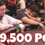 Watch this Pot EXPLODE   VERY RARE PLO (Pot Limit Omaha)